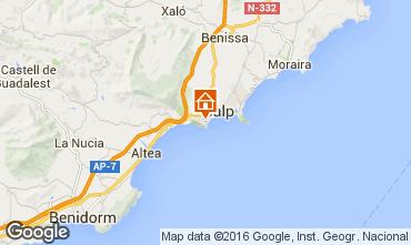 Mapa Calpe Vivenda 75907