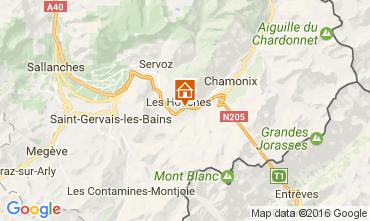 Mapa Chamonix Mont-Blanc Apartamentos 107432