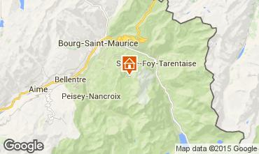 Mapa Les Arcs Apartamentos 80074
