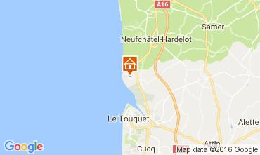 Mapa Le Touquet Casa 80399