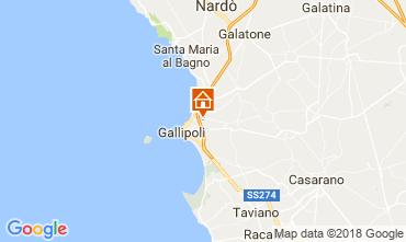 Mapa Gallipoli Apartamentos 95183