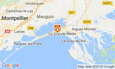 Mapa La Grande Motte Estúdio 116057