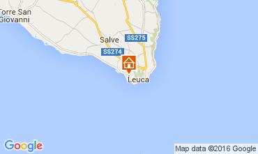 Mapa Santa Maria di Leuca Vivenda 71422