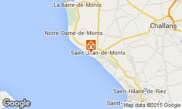 Mapa Saint Jean de Monts Mobil Home 82328