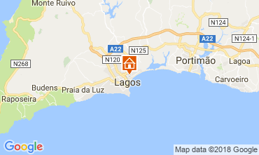 Mapa Lagos Apartamentos 113515