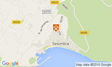 Mapa Sesimbra Apartamentos 70999