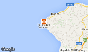 Mapa Capo Vaticano Apartamentos 93370