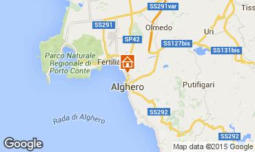 Mapa Alghero Apartamentos 79617