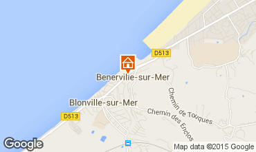 Mapa Deauville Apartamentos 101396