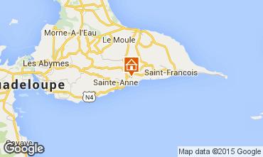 Mapa Sainte Anne (Guadalupe) Est�dio 8027