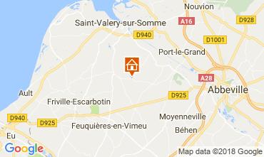 Mapa Saint Valéry sur Somme Castelo 92371