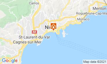 Mapa Nice Apartamentos 8341