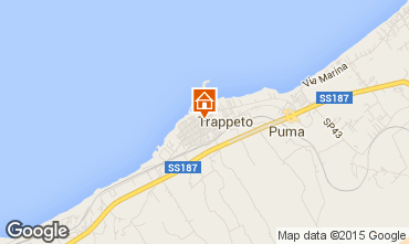 Mapa Trappeto Apartamentos 82748