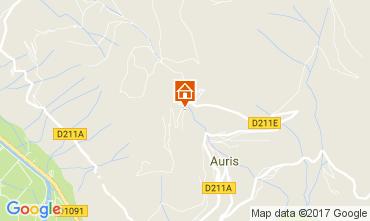 Mapa Le Bourg-d'Oisans Apartamentos 112032