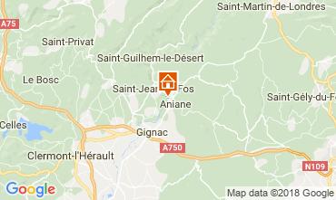 Mapa Aniane Vivenda 115280