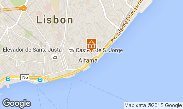 Mapa Lisboa Apartamentos 26404