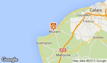 Mapa Wissant Apartamentos 60362