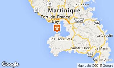 Mapa Trois Ilets Apartamentos 79020