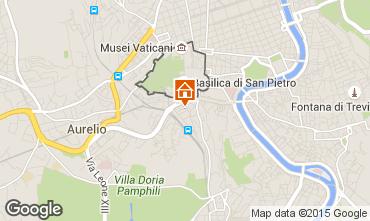 Mapa Roma Apartamentos 43575