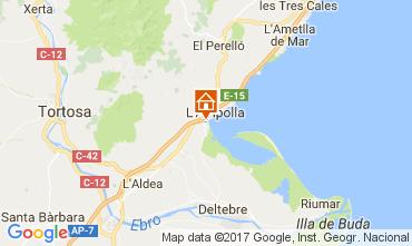 Mapa L'ampolla Vivenda 112078