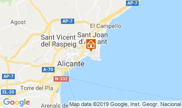 Mapa Alicante Apartamentos 118634