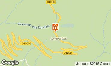 Mapa La Rosi�re 1850 Apartamentos 2468