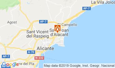 Mapa Alicante Apartamentos 117974