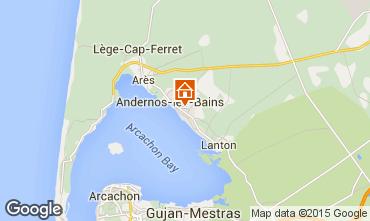 Mapa Andernos les Bains Casa 10182