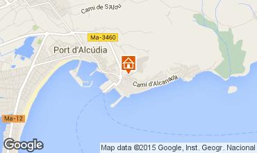 Mapa Alcudia Alojamento ins�lito/Moradia at�pica  97557