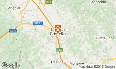 Mapa Città di Castello Apartamentos 74064