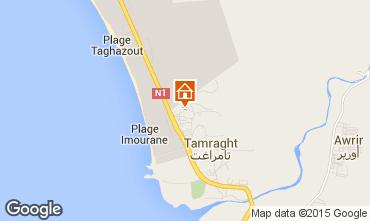Mapa Taghazout Apartamentos 86115