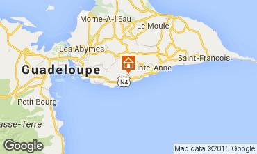 Mapa Gosier (Guadeloupe) Quarto de hóspedes insólito 93210