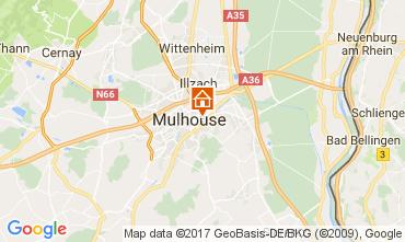 Mapa Mulhouse Apartamentos 107705