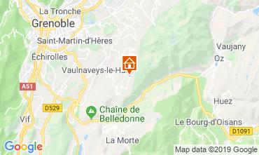 Mapa Chamrousse Chalé 742