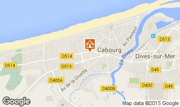 Mapa Cabourg Apartamentos 69564