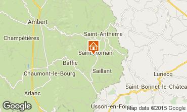 Mapa Saint-Anthème Casa de turismo rural/Casa de campo 85778