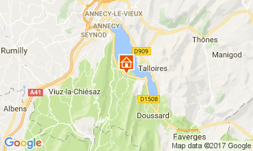 Mapa Annecy Apartamentos 112137