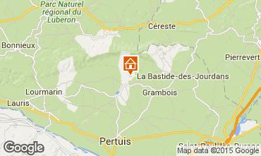 Mapa La Tour d'Aigues Vivenda 24563