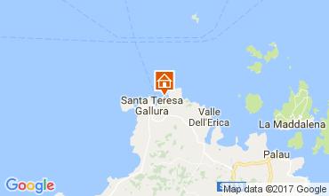 Mapa Santa Teresa di Gallura Apartamentos 33793