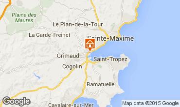 Mapa Port Grimaud Mobil Home 11587