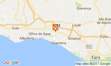 Mapa Vilamoura Vivenda 109457
