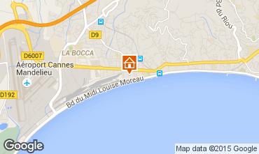 Mapa Cannes Apartamentos 82546