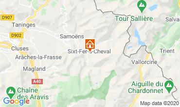 Mapa  Chalé 116957