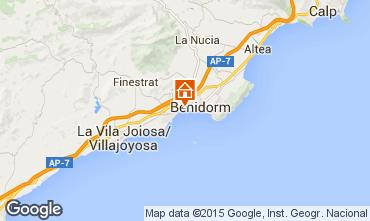 Mapa Benidorm Apartamentos 16350