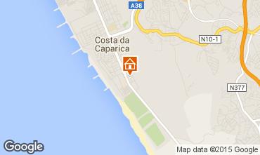 Mapa Costa da Caparica Apartamentos 52423