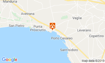 Mapa Porto Cesareo Apartamentos 117577