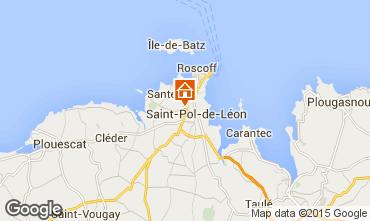 Mapa Saint-Pol-de-Léon Casa 58777