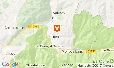 Mapa Alpe d'Huez Apartamentos 64