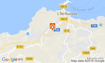 Mapa Location Ile Rousse Apartamentos 114366