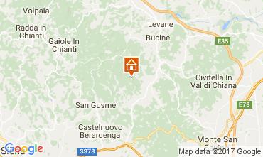 Mapa Siena Casa de turismo rural/Casa de campo 109624